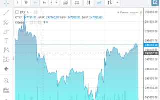 График акций Berkshire Hathaway и их особенности